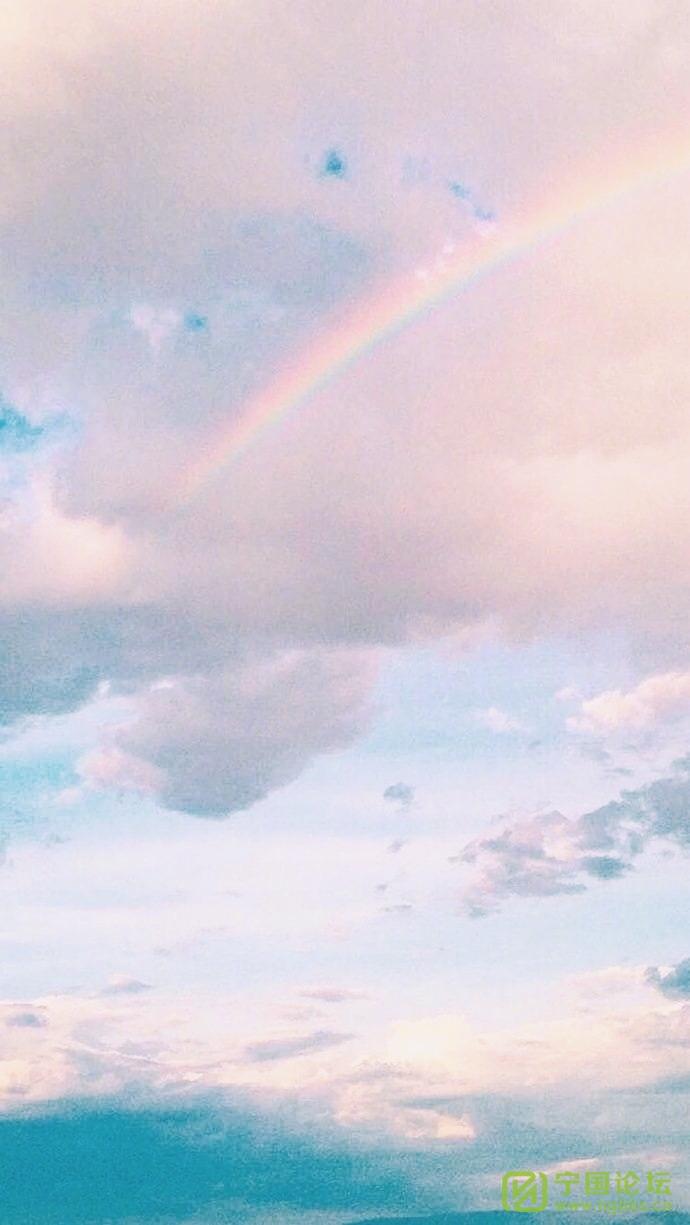 (道听图说第一百五十四期)因为感恩,所以来蹭热点 - 宁国论坛 - 冬日彩虹.jpg