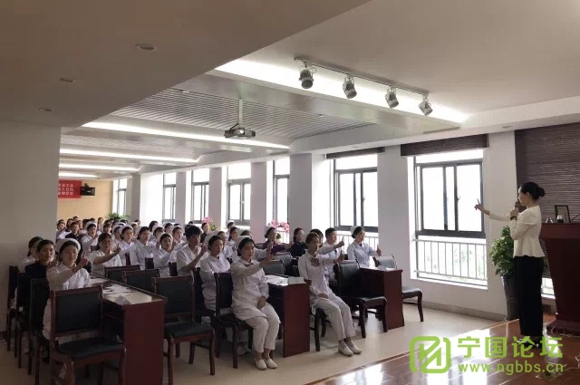 宁国市骨科医院举行医护礼仪培训 - 宁国论坛 - IMG_3533.JPG