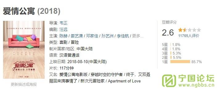 建议要去看电影爱情公寓的朋友别去看了,退票吧 - 宁国论坛 - 2099825508.jpg