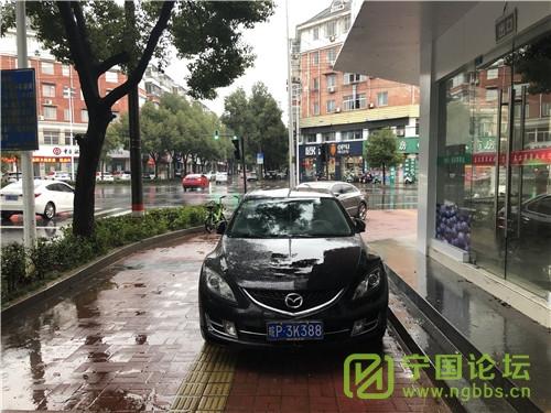 城管局对12月06日城区人行道违法停车进行曝光 - 宁国论坛 - 3K388.jpg