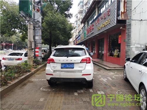 城管局对01月11日城区人行道违法停车进行曝光 - 宁国论坛 - T8283.jpg