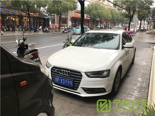 城管局对02月11日城区人行道违法停车进行曝光 - 宁国论坛 - X3Y99.jpg