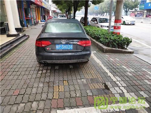 城管局对02月11日城区人行道违法停车进行曝光 - 宁国论坛 - 3H038.jpg