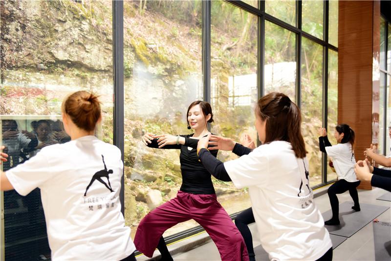 向往的生活 梵瑞瑜伽·真也天境回归于山水之间首届瑜伽艺术节圆满举行 - 宁国论坛 - DSC_4079.jpg
