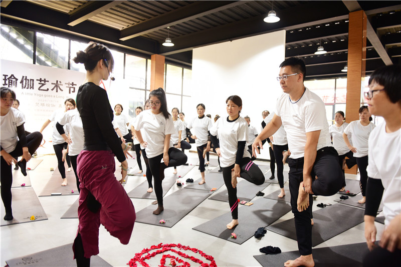 向往的生活 梵瑞瑜伽·真也天境回归于山水之间首届瑜伽艺术节圆满举行 - 宁国论坛 - DSC_4135.jpg