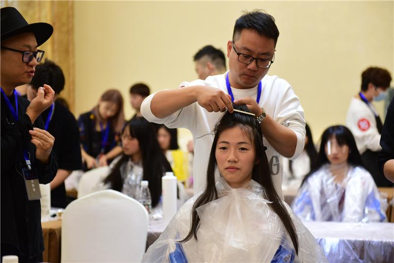2021年宣城市美容美发职业技能竞赛在宁国火热开赛 - 宁国论坛 - DSC_1544.jpg