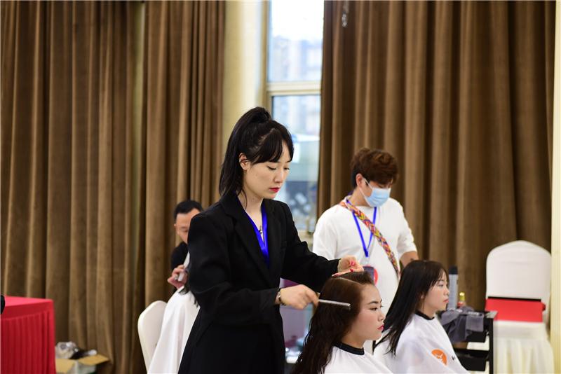 2021年宣城市美容美发职业技能竞赛在宁国火热开赛 - 宁国论坛 - DSC_1665.jpg
