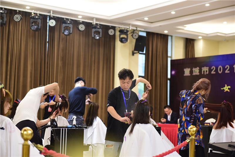 2021年宣城市美容美发职业技能竞赛在宁国火热开赛 - 宁国论坛 - DSC_1679.jpg
