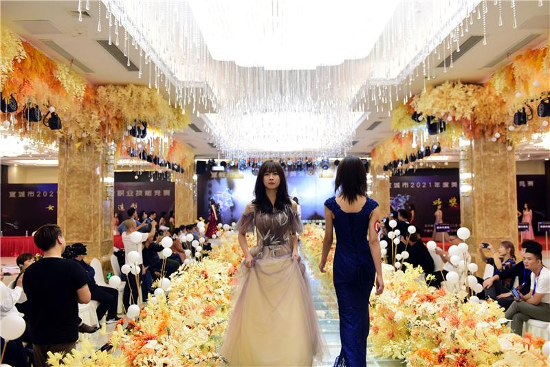 2021年宣城市美容美发职业技能竞赛在宁国火热开赛 - 宁国论坛 - DSC_1839.jpg